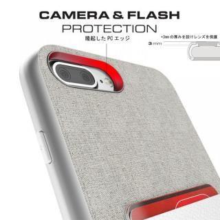 【iPhone8 Plus/7 Plusケース】カードクリップ付タフケース エグゼク2 ブラウン iPhone 8 Plus/7 Plus_5