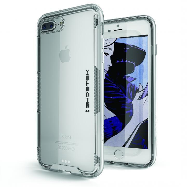 【iPhone8 Plus/7 Plusケース】スタイリッシュなハイブリッドケース クローク3 シルバー iPhone 8 Plus/7 Plus_0