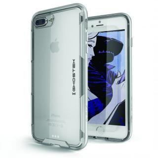 スタイリッシュなハイブリッドケース クローク3 シルバー iPhone 8 Plus/7 Plus