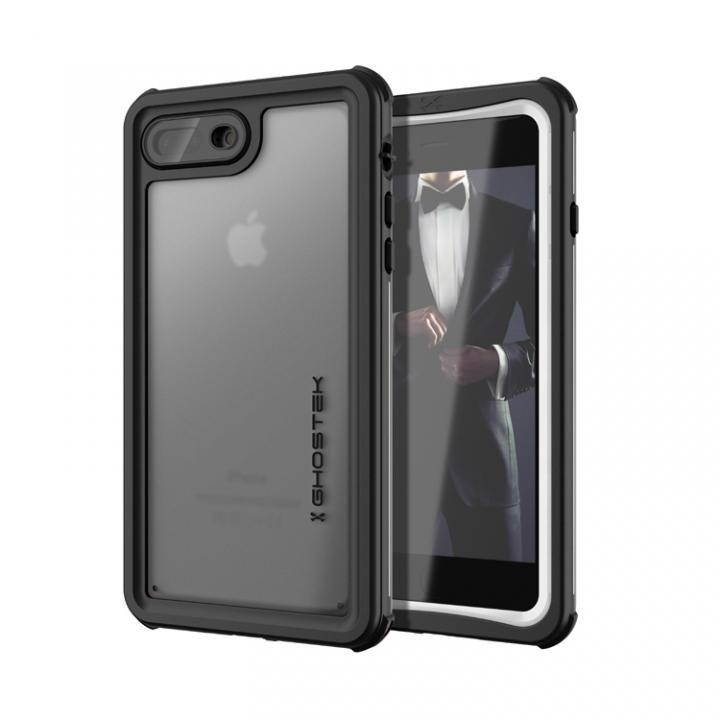 【iPhone8 Plus/7 Plusケース】IP68防水防塵タフネスケース ノーティカル ホワイト iPhone 8 Plus/7 Plus_0
