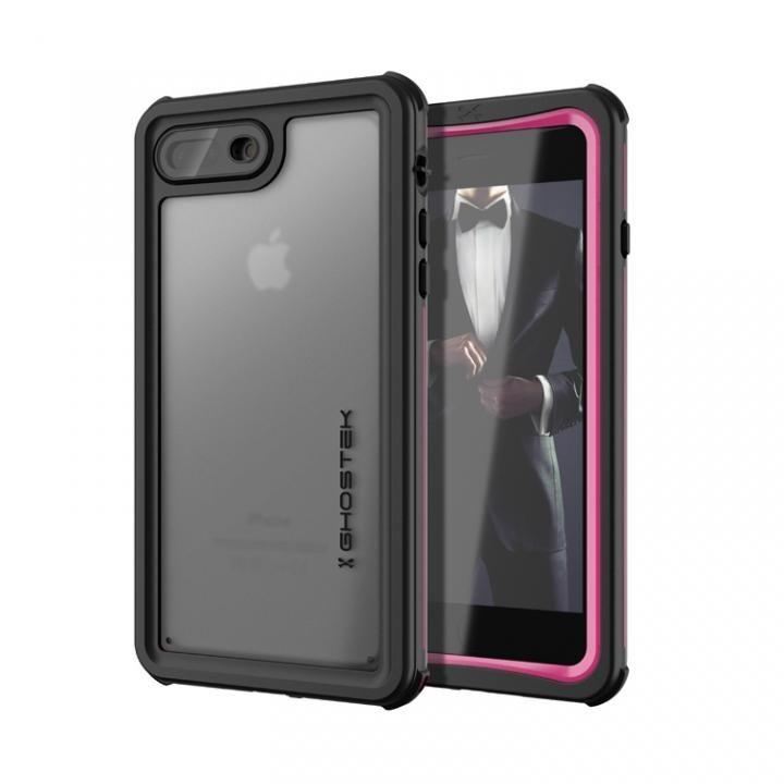 【iPhone8 Plus/7 Plusケース】IP68防水防塵タフネスケース ノーティカル ピンク iPhone 8 Plus/7 Plus_0