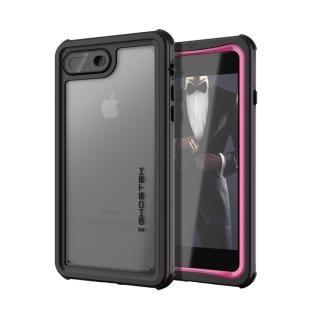 【iPhone8 Plus/7 Plusケース】IP68防水防塵タフネスケース ノーティカル ピンク iPhone 8 Plus/7 Plus
