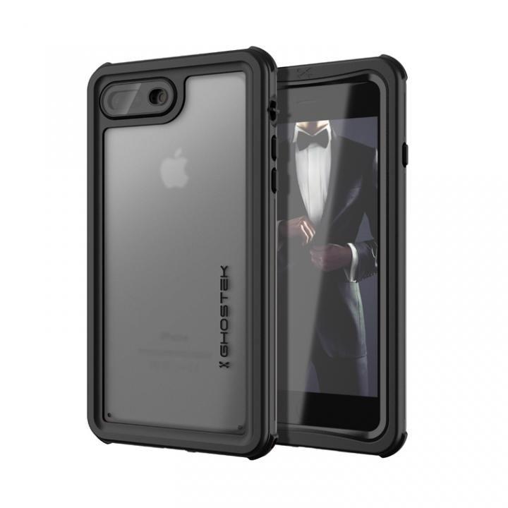 iPhone8 Plus/7 Plus ケース IP68防水防塵タフネスケース ノーティカル ブラック iPhone 8 Plus/7 Plus_0