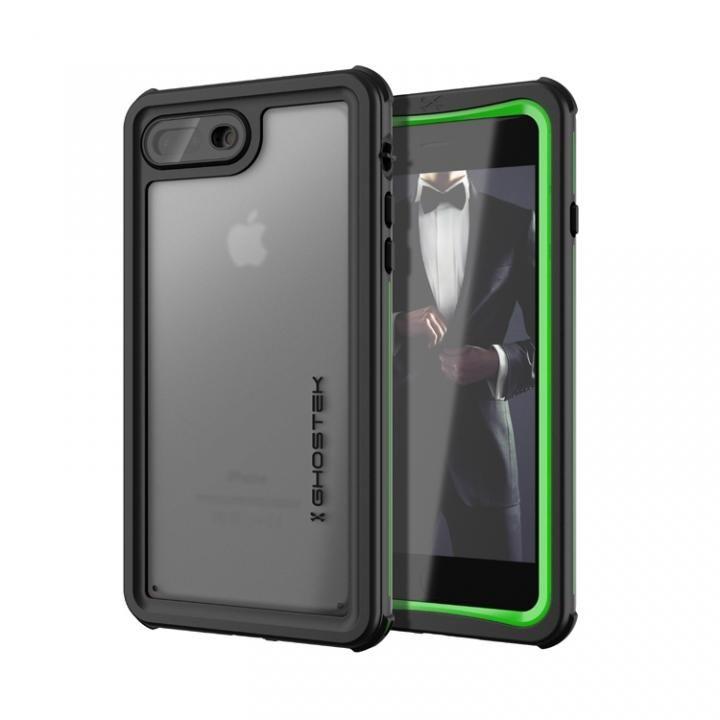 iPhone8 Plus/7 Plus ケース IP68防水防塵タフネスケース ノーティカル グリーン iPhone 8 Plus/7 Plus_0