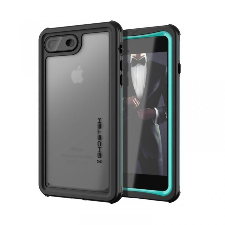 【iPhone8 Plus/7 Plusケース】IP68防水防塵タフネスケース ノーティカル ティール iPhone 8 Plus/7 Plus_0