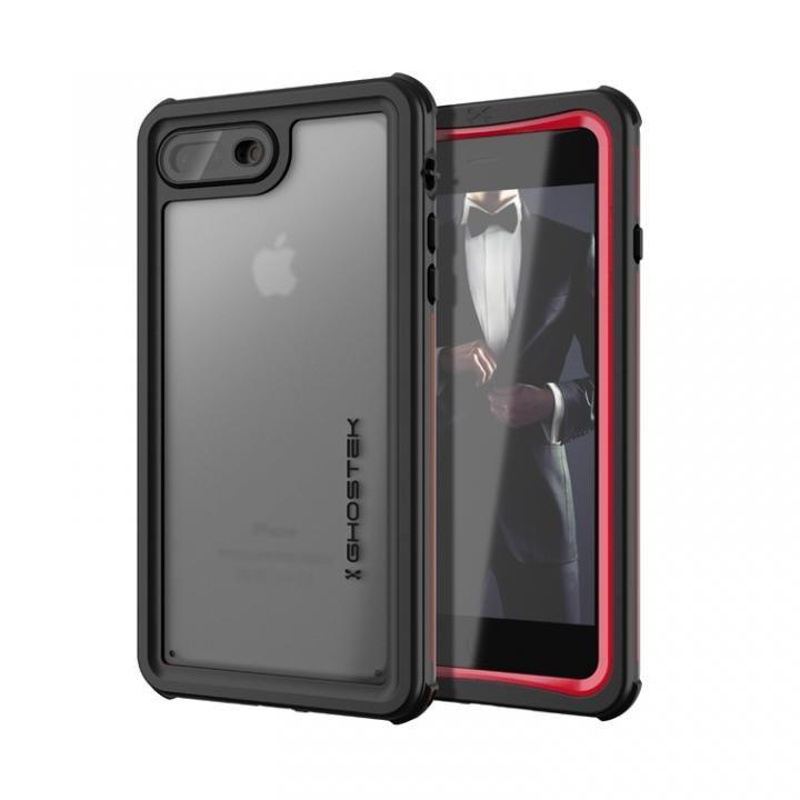 【iPhone8 Plus/7 Plusケース】IP68防水防塵タフネスケース ノーティカル レッド iPhone 8 Plus/7 Plus_0