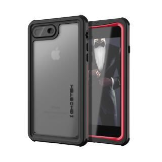 IP68防水防塵タフネスケース ノーティカル レッド iPhone 8 Plus/7 Plus【8月下旬】