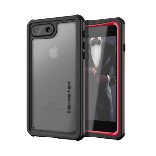 【iPhone8 Plus/7 Plusケース】IP68防水防塵タフネスケース ノーティカル レッド iPhone 8 Plus/7 Plus