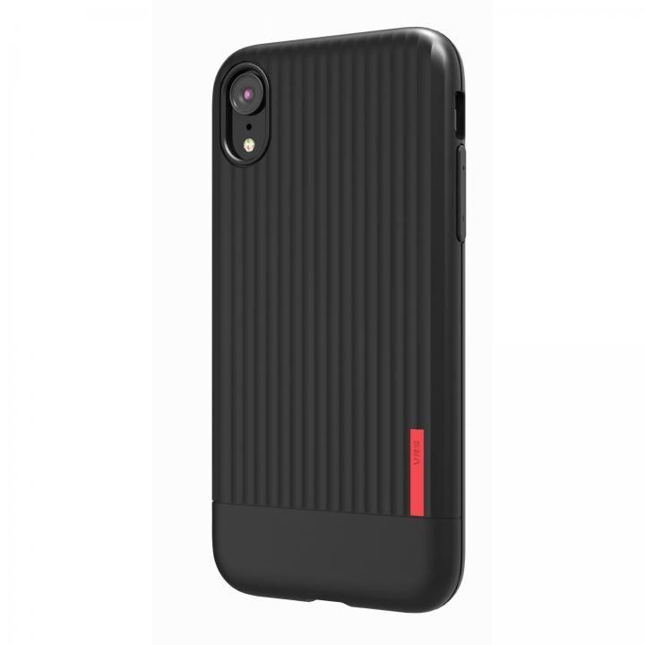 【iPhone XRケース】VRS DESIGN(VERUS) Single Fit Label ブラック iPhone XR_0