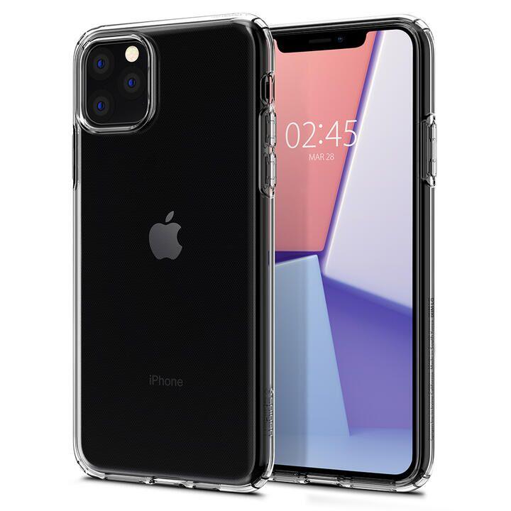 Spigen クリスタルフレックス 薄型軽量ソフトケース クリスタルクリア iPhone 11 Pro Max_0