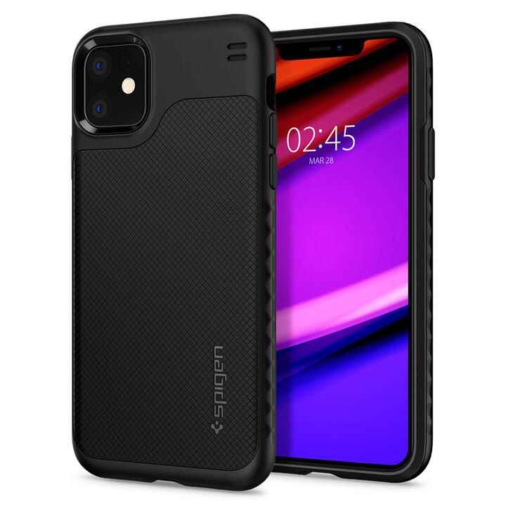 iPhone 11 ケース Spigen ハイブリッドNX 耐衝撃ケース マットブラック iPhone 11_0