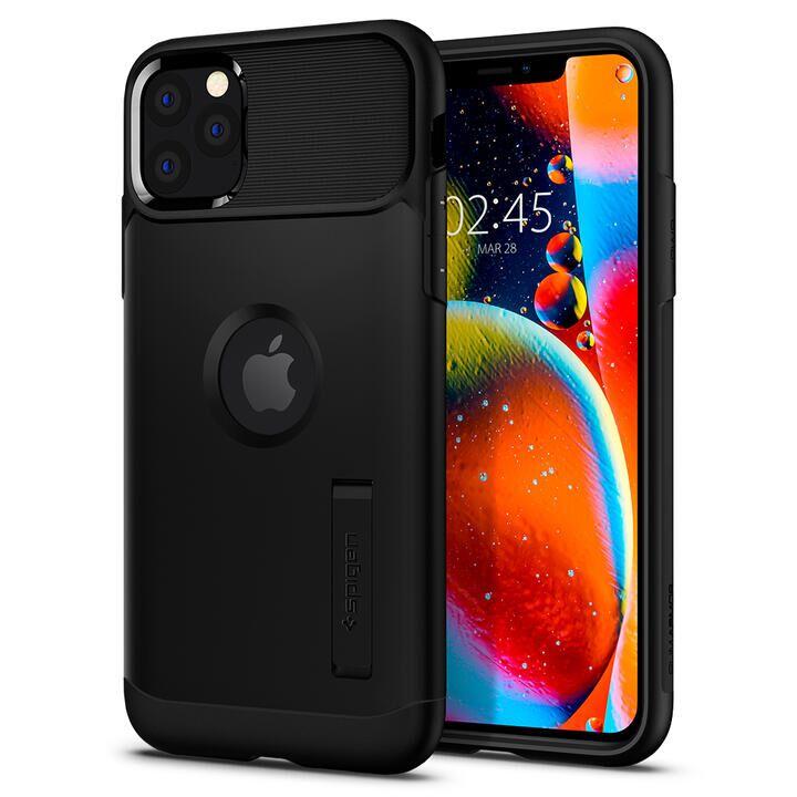 iPhone 11 Pro Max ケース Spigen スリムアーマー 耐衝撃ケース ブラック iPhone 11 Pro Max_0