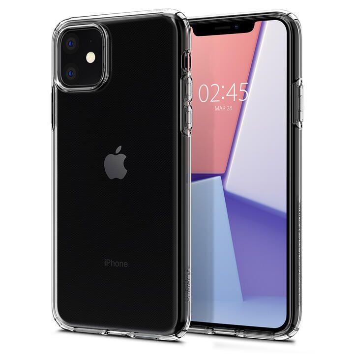 iPhone 11 ケース Spigen クリスタルフレックス 薄型軽量ソフトケース クリスタルクリア iPhone 11_0