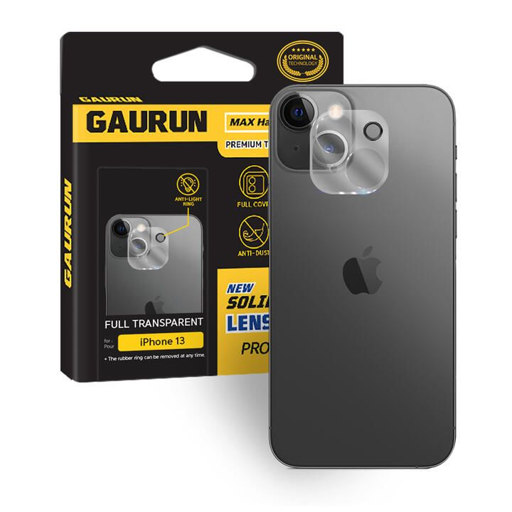 GAURUN Camera Lens Glass clear iPhone 13 Pro_0