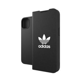 iPhone 13 ケース adidas Originals Booklet Case BASIC FW21 Black/White iPhone 13【10月下旬】