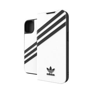 iPhone 13 ケース adidas Originals Booklet Case PU FW21 White/Black iPhone 13【10月下旬】