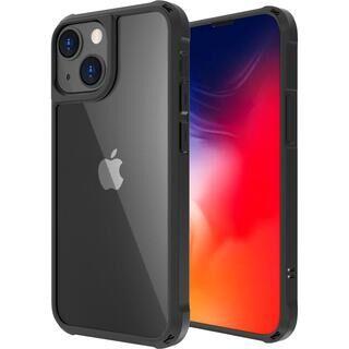 iPhone 13 ケース LINKASE AIR ゴリラガラスiPhoneケース マットブラック iPhone 13