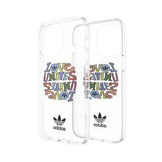 iPhone 13 ケース adidas Originals Snap case Pride AOP FW21 colourful iPhone 13/iPhone 13 Pro