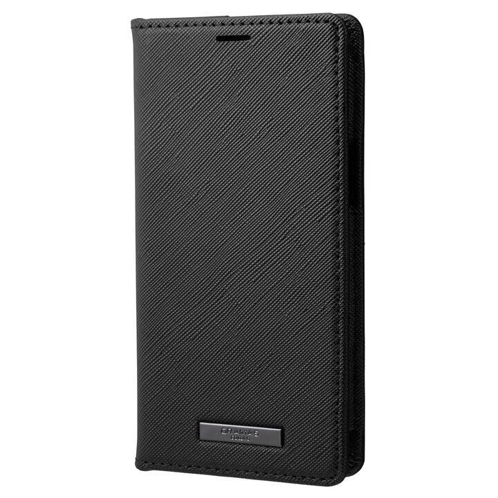 GRAMAS COLORS EURO Passione PU Leather Book Case 手帳型PUケース Black iPhone 13 mini_0