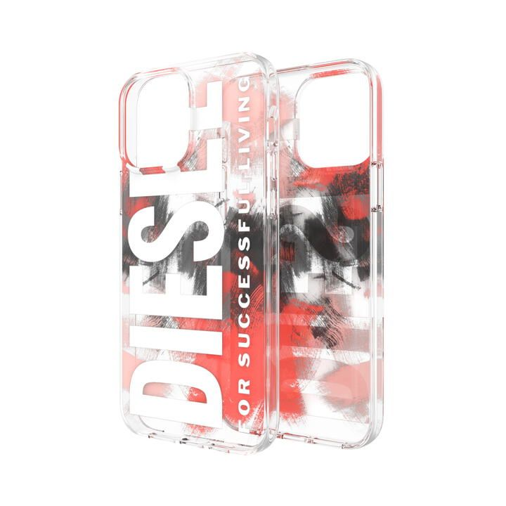 DIESEL Clear Military Brush Red iPhone 13 Pro Max【10月下旬】_0