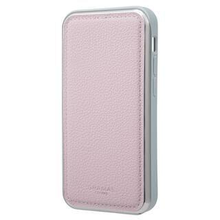 iPhone 13 mini (5.4インチ) ケース GRAMAS COLORS Shrink PU Leather Hybrid Shell Case 背面型ハイブリッドケース Lavender iPhone 13 mini