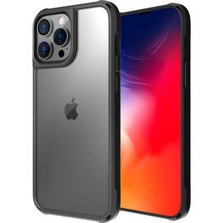 iPhone 13 Pro Max (6.7インチ) ケース LINKASE AIR ゴリラガラスiPhoneケース マットブラック iPhone 13 Pro Max