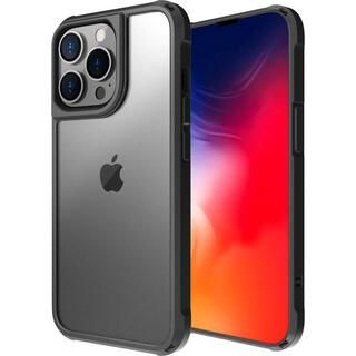 iPhone 13 Pro ケース LINKASE AIR ゴリラガラスiPhoneケース マットブラック iPhone 13 Pro