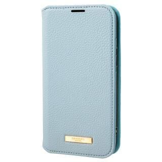iPhone 13 mini (5.4インチ) ケース GRAMAS COLORS Shrink PU Leather Book Case 手帳型PUケース Light Blue iPhone 13 mini【11月上旬】