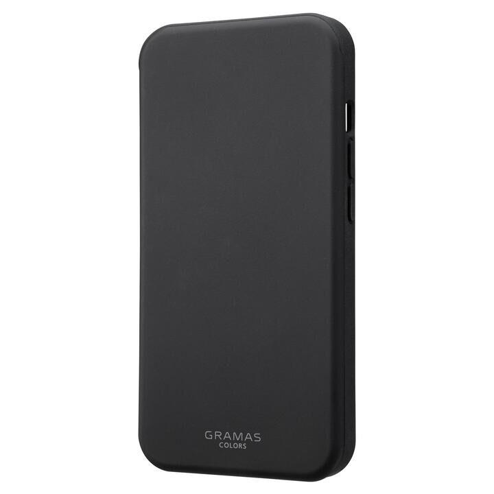 GRAMAS COLORS Flat FullCover Hybrid Case Black iPhone 13/iPhone 13 Pro【10月下旬】_0