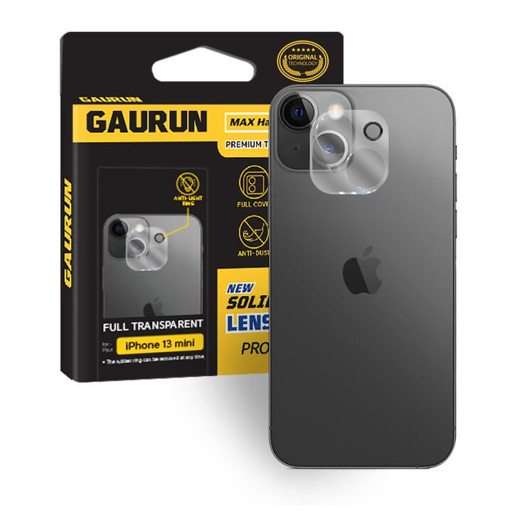GAURUN Camera Lens Glass clear iPhone 13 mini_0