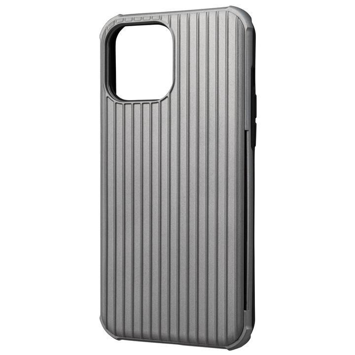 GRAMAS COLORS Rib-Slide Hybrid Shell Case 耐衝撃ハイブリッドケース Gray iPhone 13 Pro Max【10月下旬】_0