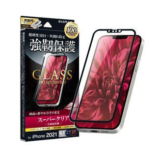 iPhone 13 / iPhone 13 Pro (6.1インチ) フィルム LEPLUS ガラスフィルム GLASS PREMIUM FILM 全画面保護 ソフトフレーム スーパークリア iPhone 13/iPhone 13 Pro