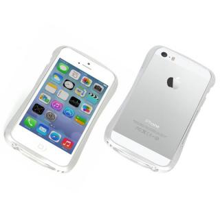 エレガントなアルミバンパー CLEAVE ALUMINUM BUMPER Mighty for iPhone 5s/5 シルバー?送料無料