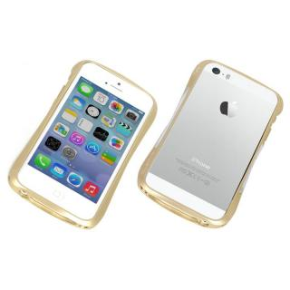 【iPhone SE/5s/5ケース】CLEAVE ALUMINUM BUMPER Mighty  ゴールド iPhone SE/5s/5_1
