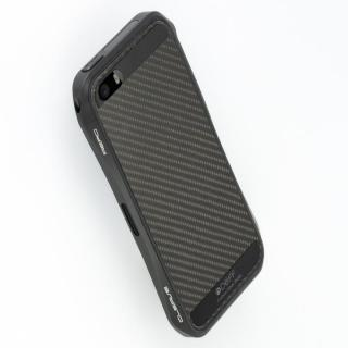 【iPhone5s ケース】Carbone Plate  iPhone SE/5s/5 Black
