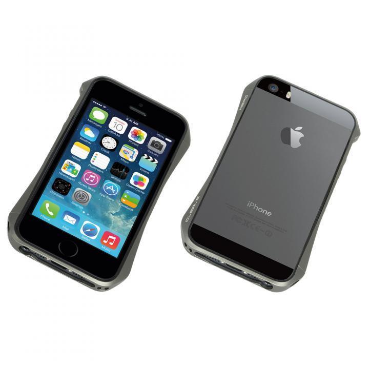 iPhone SE/5s/5 ケース Cleave Aluminum Bumper Aero  iPhone SE/5s/5 Graphite_0
