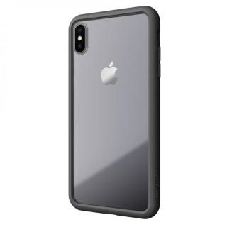 iPhone XS/X ケース LINKASE AIR with Gorilla Glass 側面TPU ブラック iPhone XS/X