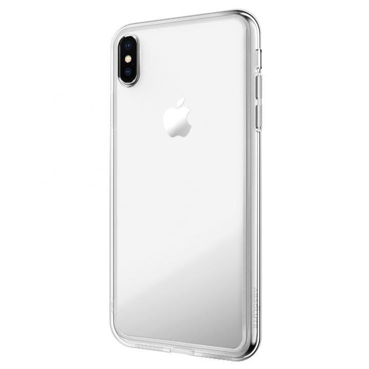 【iPhone XS/Xケース】LINKASE AIR with Gorilla Glass 側面TPU クリア iPhone XS/X_0