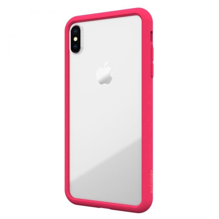 iPhone XS/X ケース LINKASE AIR with Gorilla Glass 側面TPU ピンク iPhone XS/X_0