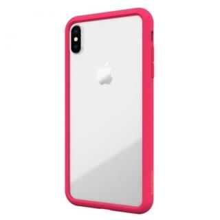 【iPhone XS/Xケース】LINKASE AIR with Gorilla Glass 側面TPU ピンク iPhone XS/X
