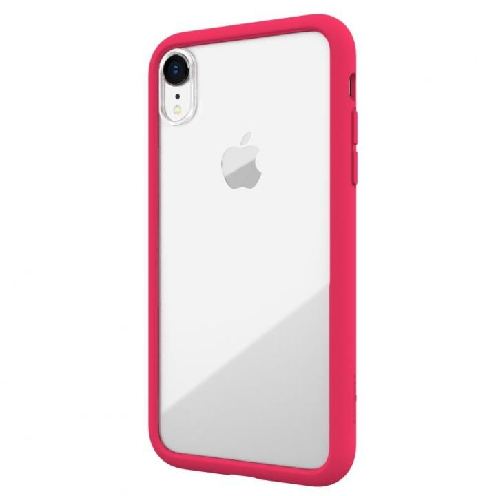 【iPhone XRケース】LINKASE AIR with Gorilla Glass 側面TPU ピンク iPhone XR_0