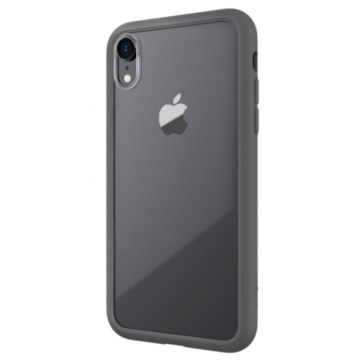 【iPhone XRケース】LINKASE AIR with Gorilla Glass 側面TPU ブラック iPhone XR_0