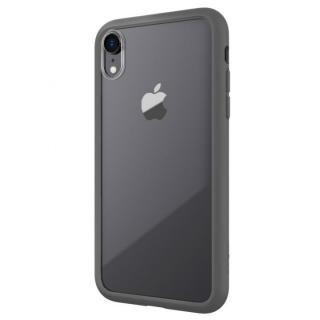 【iPhone XRケース】LINKASE AIR with Gorilla Glass 側面TPU ブラック iPhone XR