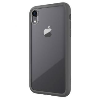 【iPhone XRケース】LINKASE AIR with Gorilla Glass 側面TPU ブラック iPhone XR