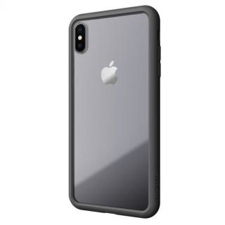 iPhone XS Max ケース LINKASE AIR with Gorilla Glass 側面TPU ブラック iPhone XS Max