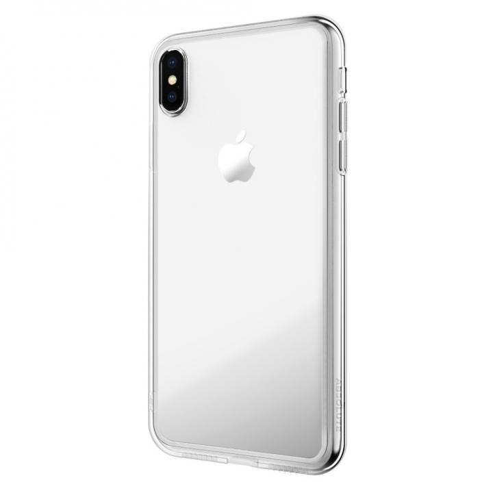 【iPhone XS Maxケース】LINKASE AIR with Gorilla Glass 側面TPU クリア iPhone XS Max_0