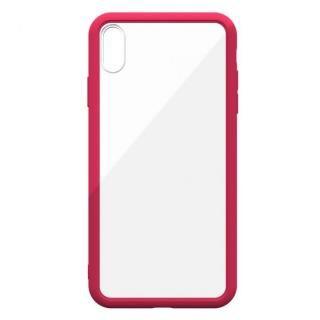 【iPhone XS Maxケース】LINKASE AIR with Gorilla Glass 側面TPU ピンク iPhone XS Max【10月中旬】_1