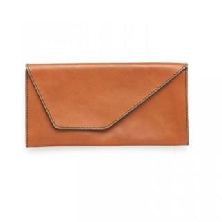 【9月下旬】旅行財布 abrAsus(アブラサス) キャメル