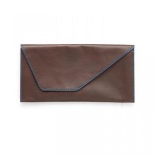 旅行財布 abrAsus(アブラサス) チョコ