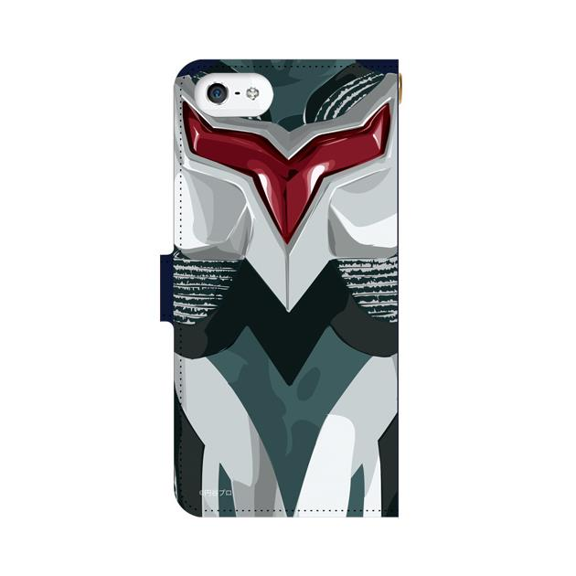 iPhone5s/5 ケース ウルトラマンネクサス 手帳型ケース iPhone 5s_0